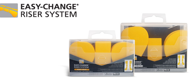 EASY-CHANGE® Riser System standard and complete kits.